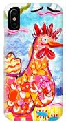 Chicken Of The Sea IPhone Case
