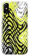 Chicken Scratch Abstract IPhone Case