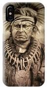 Chief Keokuk  IPhone Case
