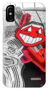 Chief Wahoo Sluggin IPhone Case