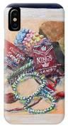 Childhood Treasure IPhone Case by Saundra Johnson
