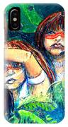 Children Of The Jungle IPhone Case