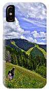 Children On Vail Mountain IPhone Case