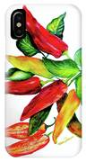 Chillies From My Garden IPhone Case