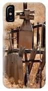 Chimayo Cemetery IPhone Case