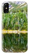 Chimney Pond Reflections 2 IPhone Case