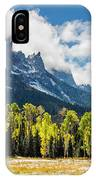 Chimney Rock Autumn IPhone Case