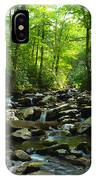 Chimney Tops Trail IPhone Case