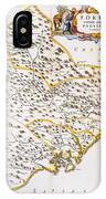 China: Fujian Map, 1662 IPhone Case