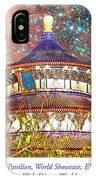 China Pavilion, World Showcase, Epcot, Walt Disney World IPhone Case