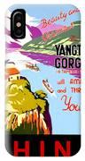 China, Yangtze River Cruise IPhone Case