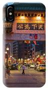 Chinatown Gate Boston Ma IPhone Case