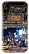Chinatown In Philadelphia IPhone Case