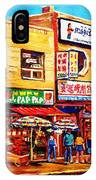 Chinatown Markets IPhone Case