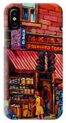 Chinatown Montreal IPhone Case