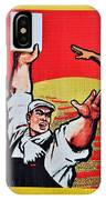 Chinese Communist Party Workers Proletariat Propaganda Poster IPhone Case