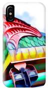 Chinese Dragon Ride 4 IPhone Case