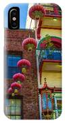 Chinese Lanterns Over Grant Street IPhone Case