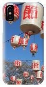 Chinese New Year Lanterns IPhone Case