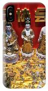 Chinese Religious Trinkets And Statues On Display In Xiamen Chin IPhone Case