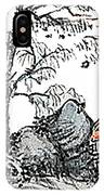 Chinese Style Watercolor Painting IPhone Case