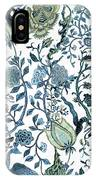 Chinoiserie Blue IPhone Case