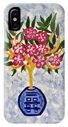 Chinoiserie Planter IPhone Case