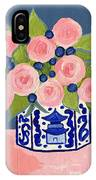 Chinoiserie Vase 2 IPhone Case