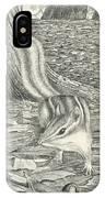 Chipmonk IPhone Case