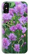 Chive Flowers IPhone Case