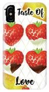 Chocolate - 7  Strawberry IPhone Case