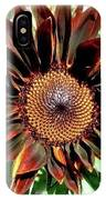 Chocolate Sunflower IPhone Case