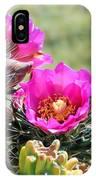 Cholla In Bloom IPhone Case