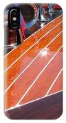 Chris Craft Bow IPhone Case