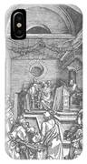 Christ Among The Doctors In The Temple 1503 IPhone Case