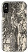 Christ Appearing To His Mother, From The Small Passion IPhone Case