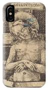 Christ As The Man Of Sorrows IPhone Case