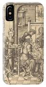 Christ At Emmaus IPhone Case