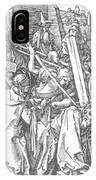 Christ Bearing The Cross 1509 IPhone Case