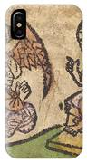 Christ Child With Three Angels IPhone Case