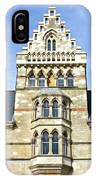 Christ Church College Oxford Architecture IPhone Case
