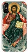 Christ Enthroned - Rlcen IPhone Case