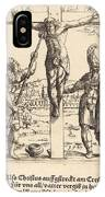 Christ Is Given Vinegar To Drink IPhone Case