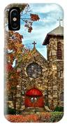 Christ My Solid Rock IPhone Case