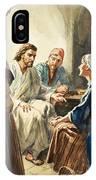 Christ Talking IPhone Case