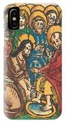 Christ Washing The Feet Of The Apostles IPhone Case