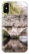Christchurch - Bridge Over The Millstream IPhone Case