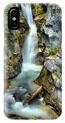 Christine Falls In The Canyon IPhone Case