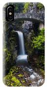Christine Falls - Mount Rainer National Park IPhone X Case