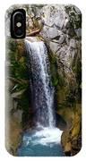Christine Falls Mt Rainier IPhone Case